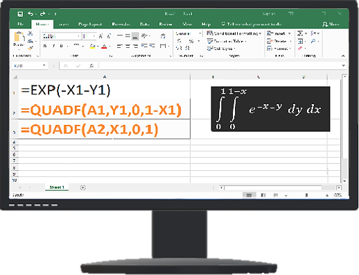 ExceLab Calculus Add-in for Excel: Patented spreadsheet